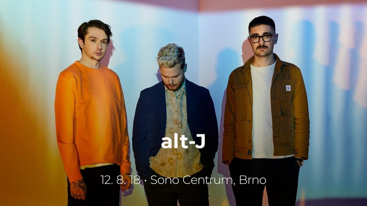 Britská senzace alt-J konečně poprvé v Brně