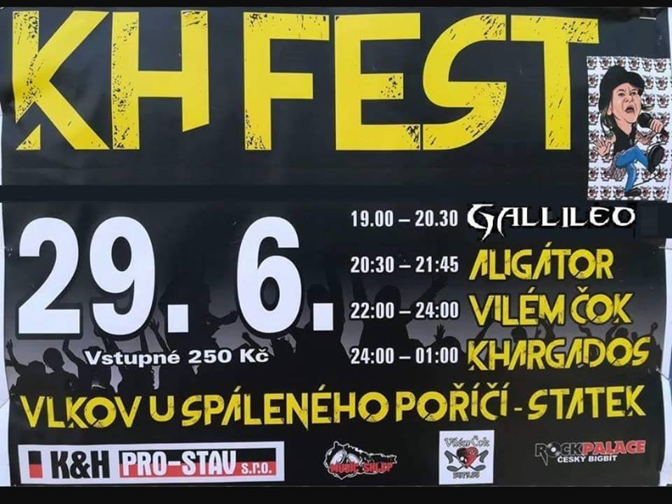 KH Fest ve Vlkově u Spáleného Poříčí