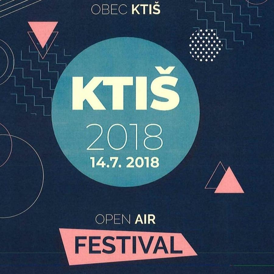 Soutěž o vstupenky na OPEN AIR KTIŠ FEST 2018