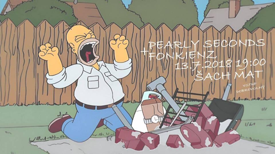 Pearly Seconds a Fonkienz rozpálí Grill párty v plzeňském Šach Matu!