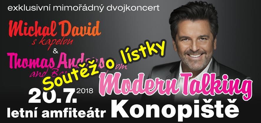 Soutěž o lístky na dvojkoncert Thomas Anders a Michal David