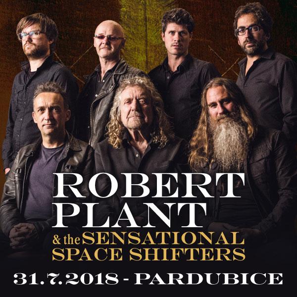 Robert Plant (Led Zeppelin) vystoupí v Pardubicích