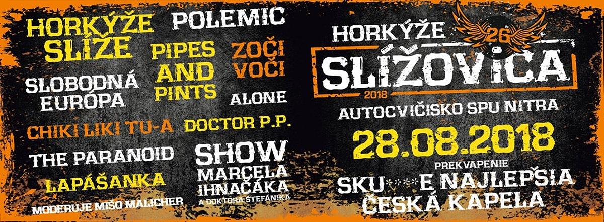 Letošní festival Slížovica přinese skvělý rockový line - up a velké hudební překvapení!