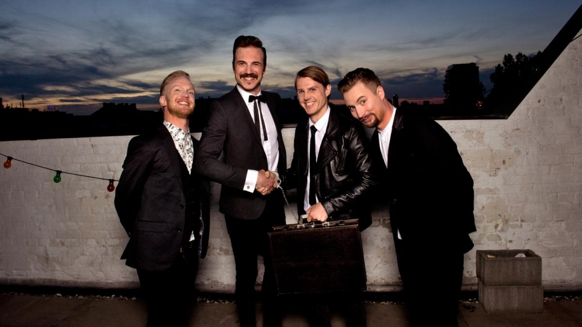 Švédský elektrizující rock'n'roll Royal Republic opět v Praze