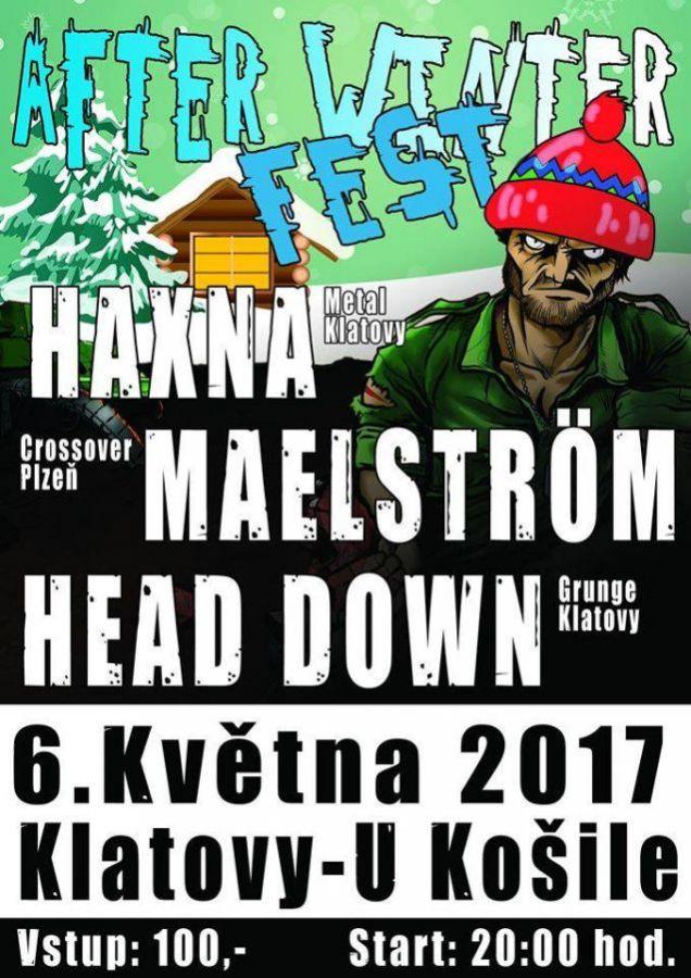 Haxna, Head down a Maelström na klatovském After winter festu
