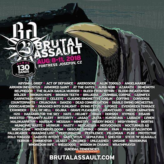 Pevnost Josefov čeká další ročník festivalu Brutal Assault