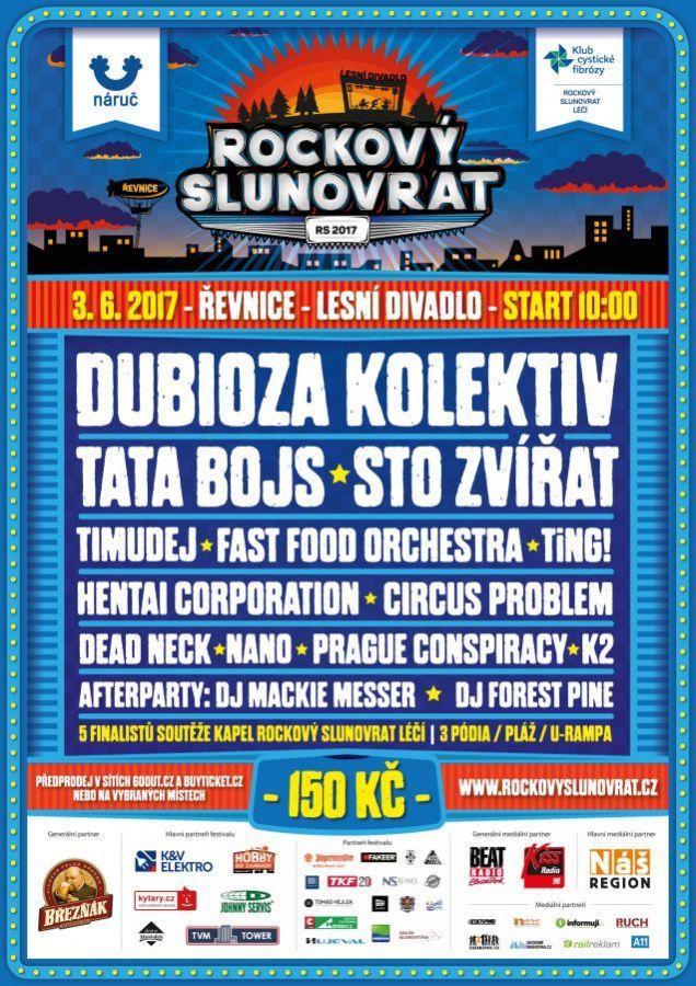Tata Bojs nebo Dubioza Kolektiv uprostřed lesa! Rockový Slunovrat 2017 slibuje pohodovou atmosféru a velké domácí i zahraniční hvězdy