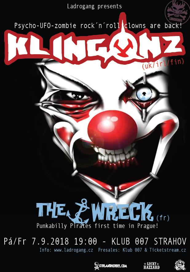 The Klingonz & The Wreck - 7.9.2018 - Klub 007 Strahov