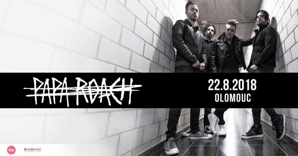 Papa Roach opět v České republice