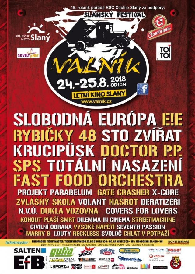 Slánský festival VALNÍK ve svém 19. ročníku
