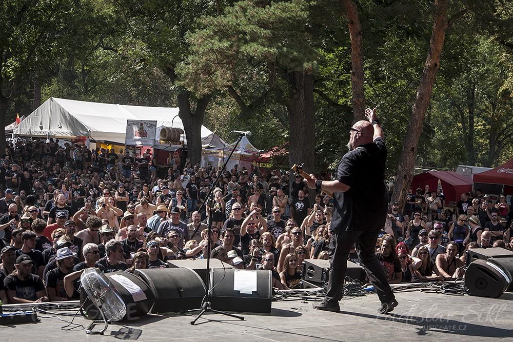 V areálu zámku Moravský Krumlov proběhl další ročník festivalu Rock Heart