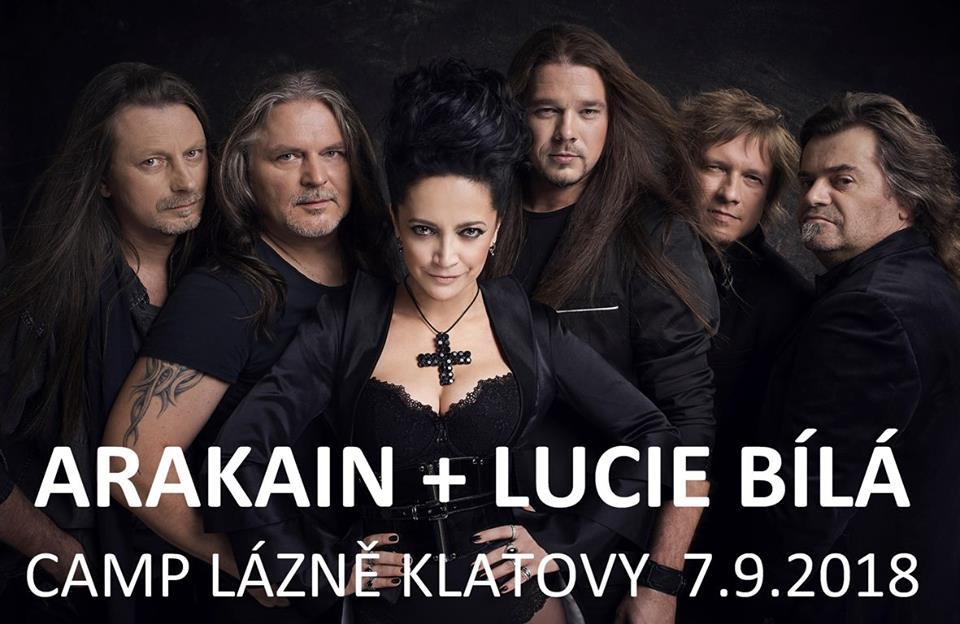 Arakain a Lucie Bílá rozjedou svou Metalománii v Klatovech
