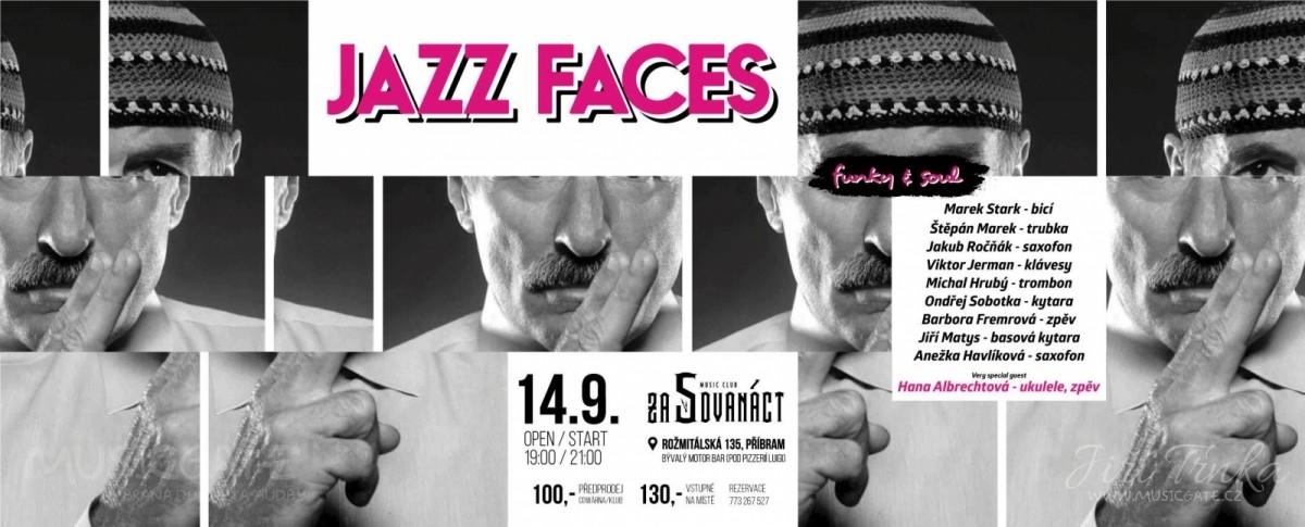 JAZZ FACES v klubu Za5dvanáct v Příbrami (14. 9. 2018)