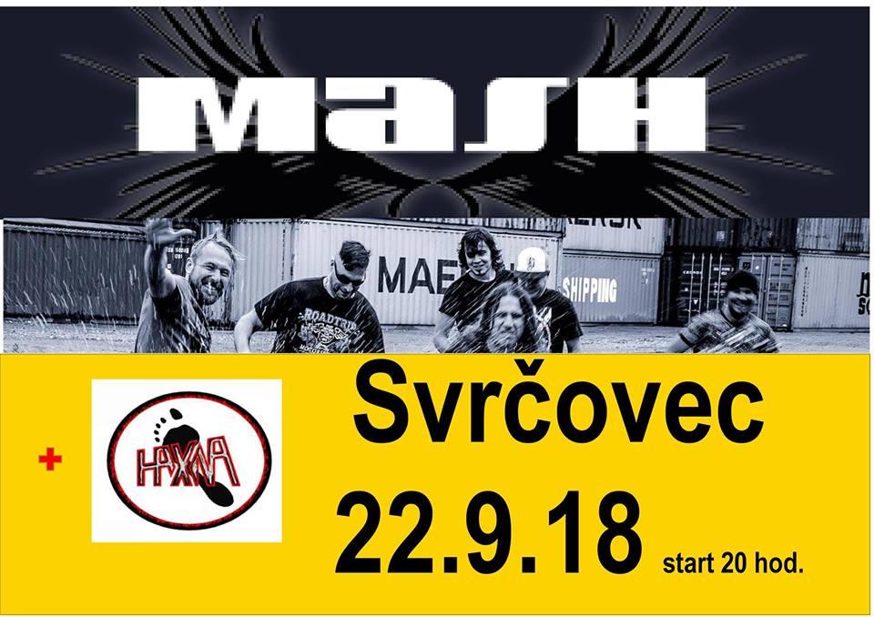 Mash a HaXna odstartují sezónu v KD Svrčovec