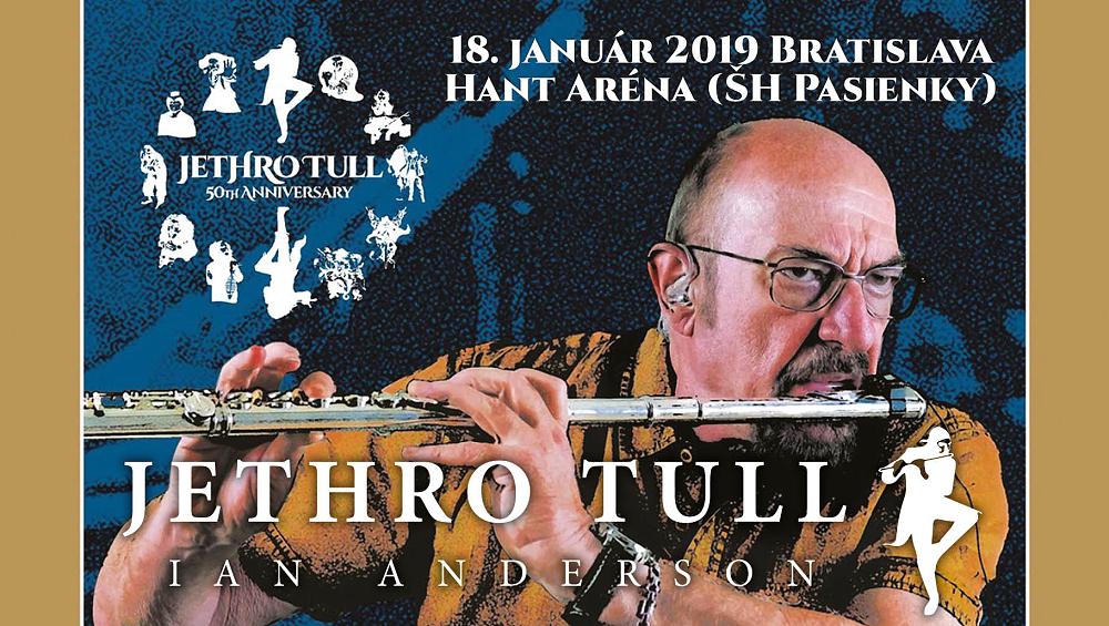 Skupina Jethro Tull oslaví v Bratislavě padesát let na rockové scéně!
