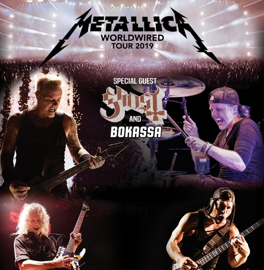 Metallica míří na evropské turné, při kterém nemine ani Prahu