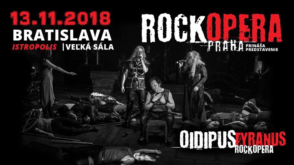 RockOpera Praha s představením Oidipus Tyranus plánuje dobýt Bratislavu