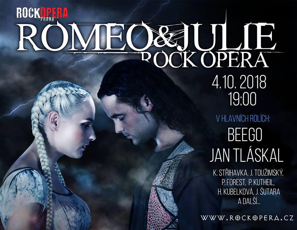 Pojďte s námi soutěžit o volňásky  na Romea a Julii v RockOpeře Praha!
