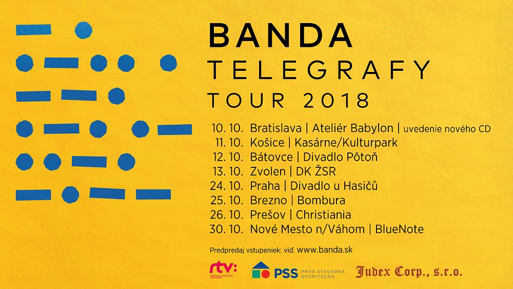 Skupina Banda má nové album, představí ho na turné po celém Slovensku