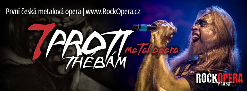 Soutěžíme o vstupenky na představení 7 proti Thébám v pražské RockOpeře!