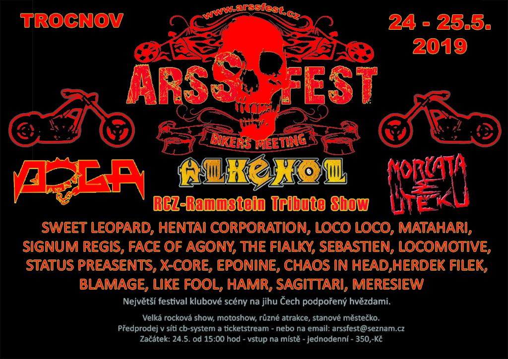Opravdu s pestrým výběrem kapel se hlásí o slovo festival ARSSFEST 2019