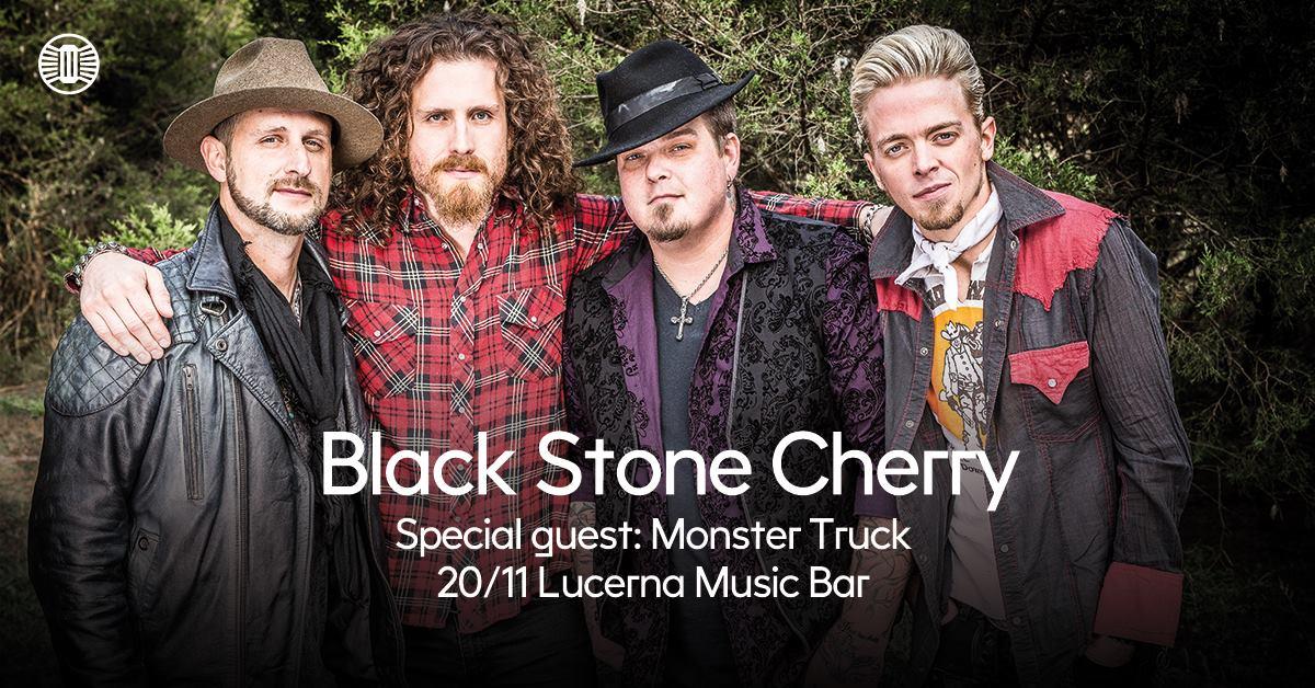 Black Stone Cherry s  Monster Truck zahrají v listopadu v Lucerna Music baru