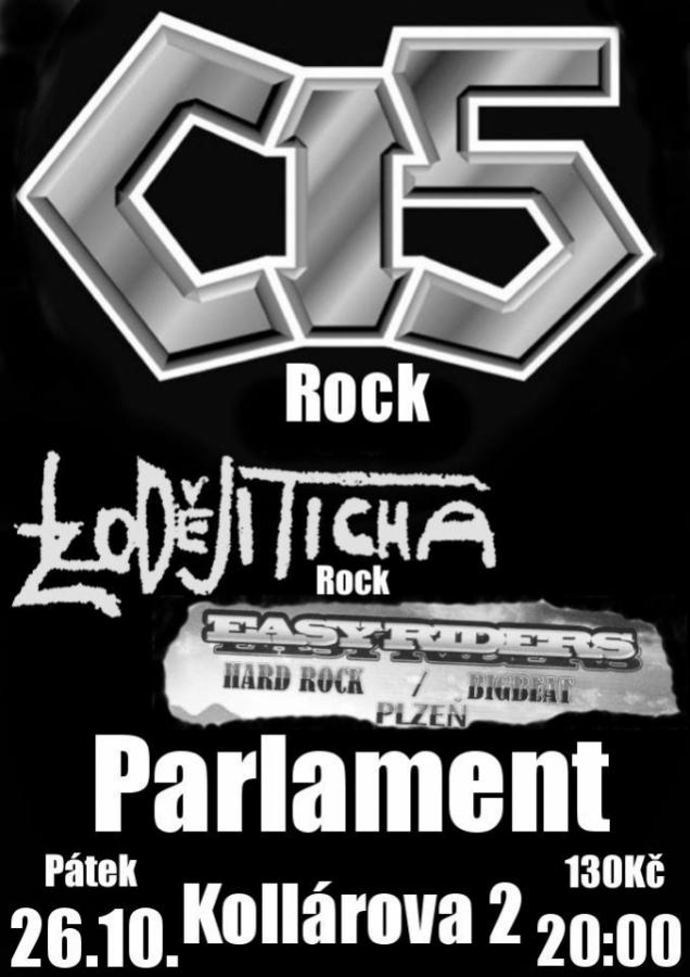 Rockový večer v Parlament Clubu přivítá tři kapely