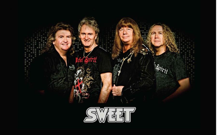 The Sweet slaví výročí 50 let existence a míří do Sono Centra!