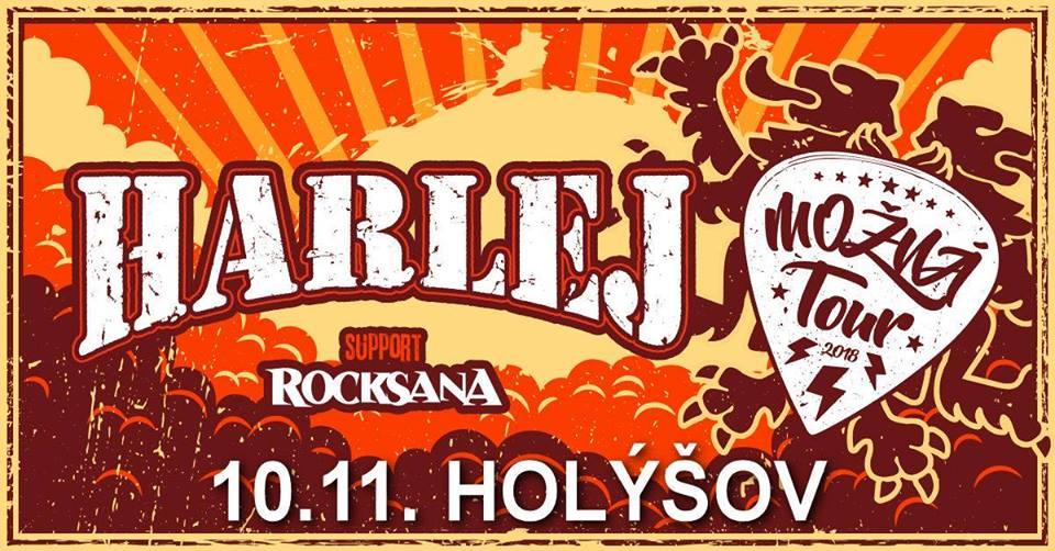 Harlej a Rocksana rozjedou svou (punk) rockovou jízdu plnou hitů v Holýšově