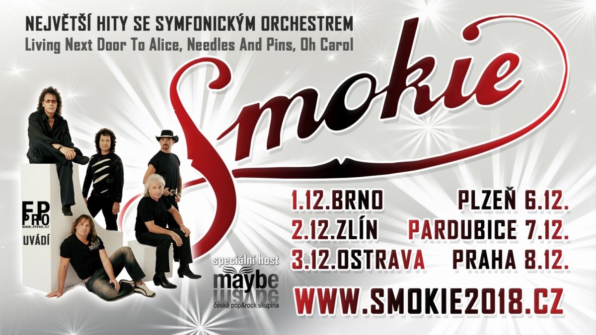 Smokie v čele s Terry Uttleym zahrají v 8 městech své největší hity ve velkolepé show se symfonickým orchestrem. Vše se připravuje v Česku a Maďarsku.