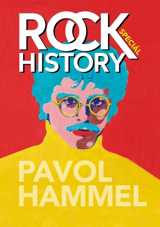 Pavol Hammel dostal k narozeninám vydání časopisu Rock History Speciál