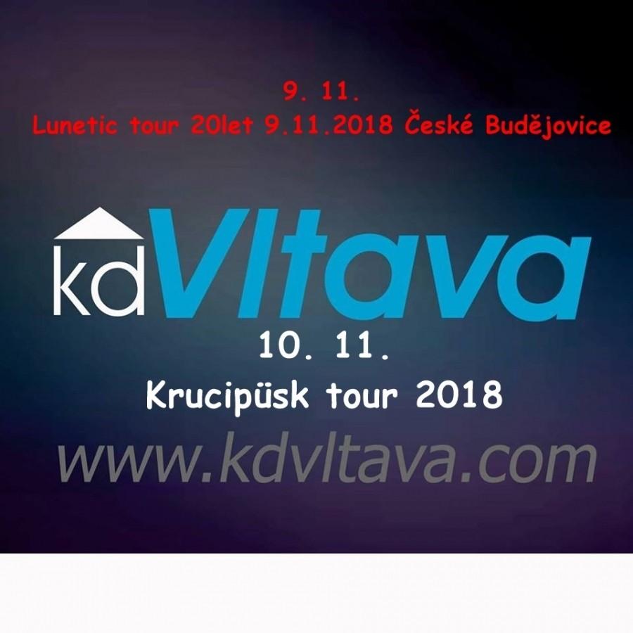 Víkend v Kd Vltava přinese v pátek koncert Lunetic a v sobotu Krucipüsk