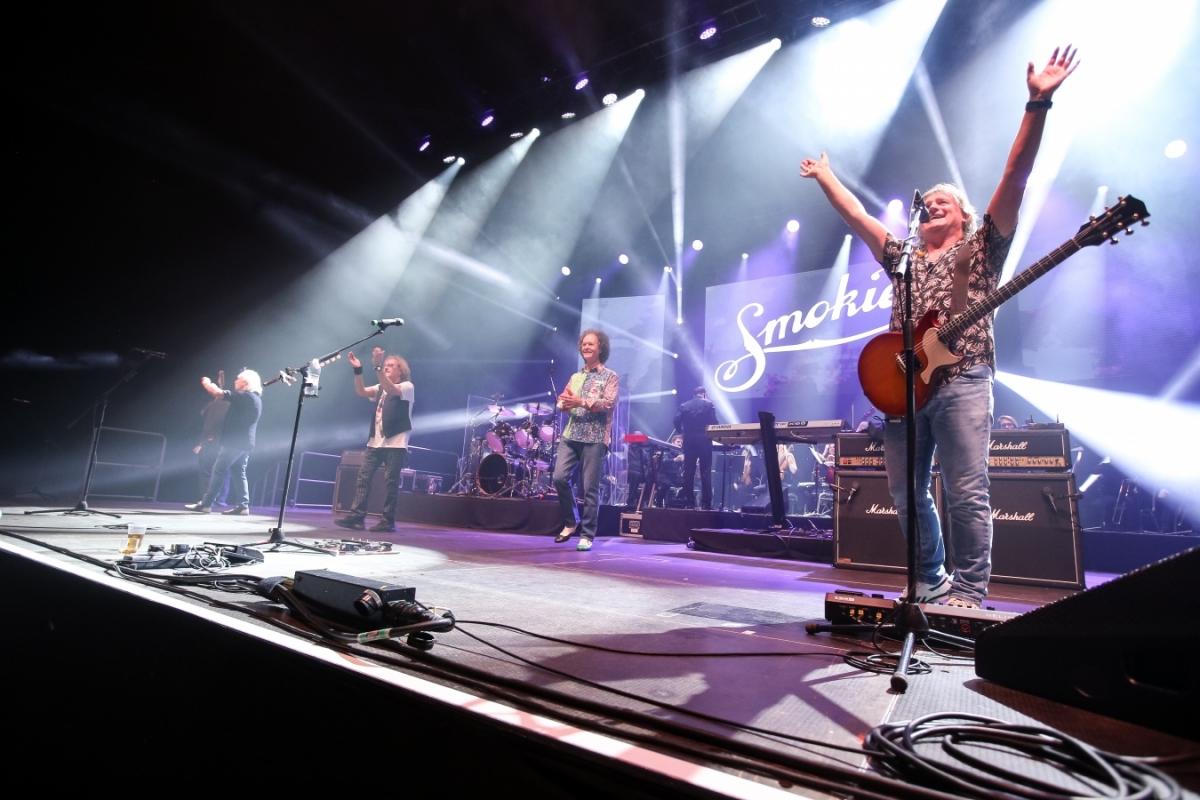 Smokie v rámci THE SYMPHONY TOUR 2018 zahráli svůj první český koncert v Brně