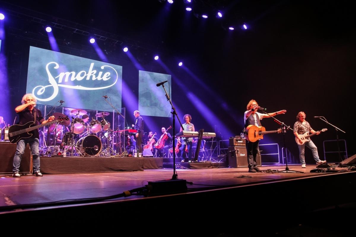 Soutěž o lístky Smokie v rámci THE SYMPHONY TOUR 2018 na 8. 12. do Prahy