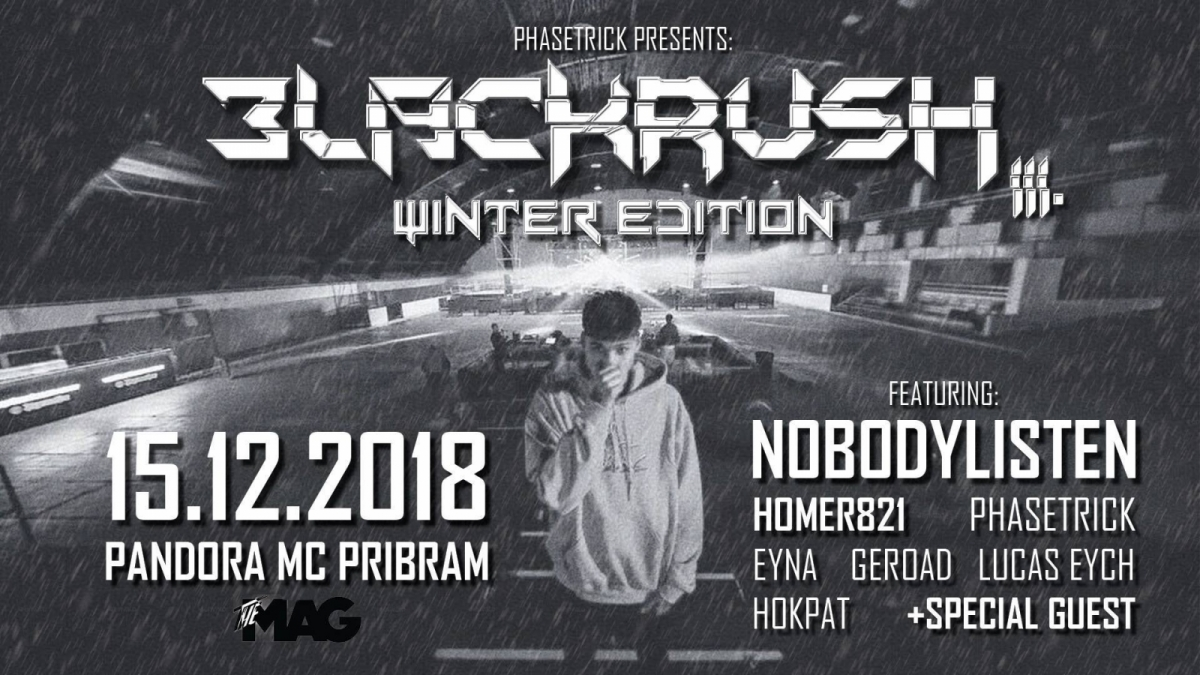 DJ NobodyListen předvede svou show v příbramském Pandora music clubu!
