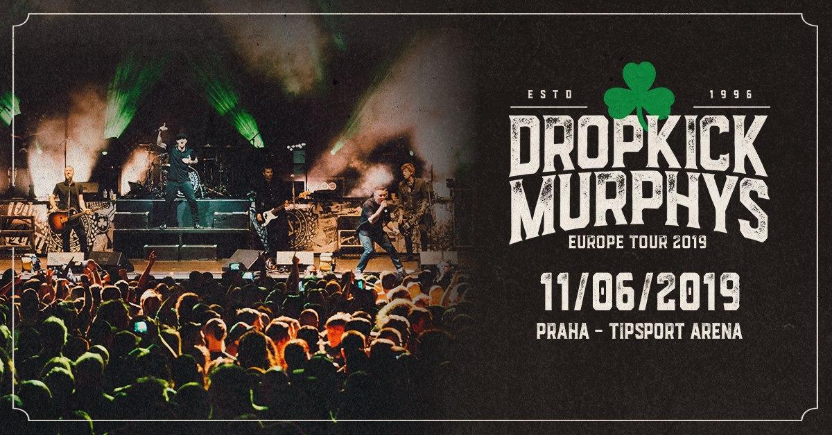 Dropkick Murphys se po roce vrací na místo činu a zburcujou Prahu
