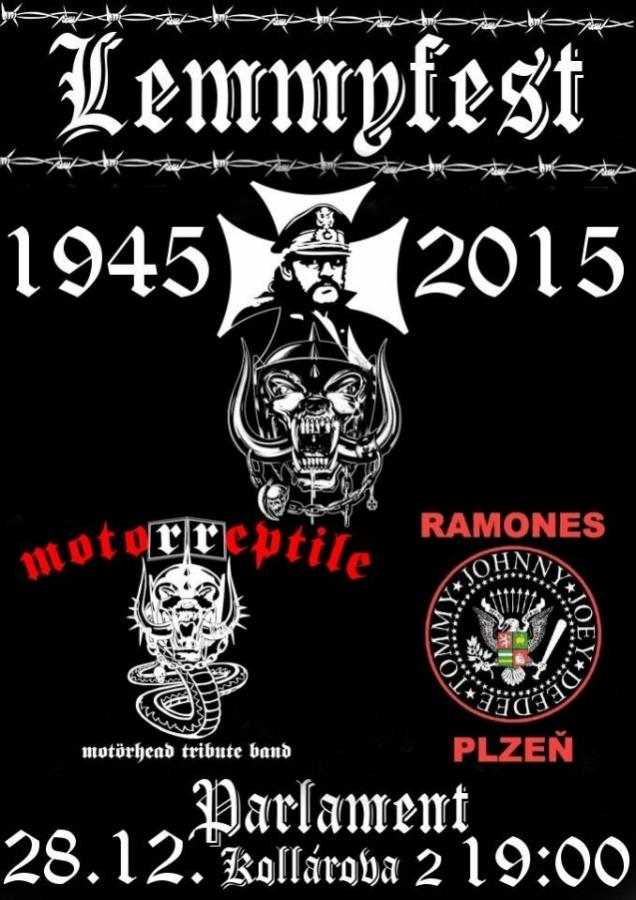 Očekávaný Lemmyfest v plzeňském Parlament Clubu