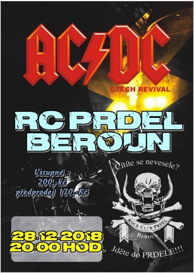 V berounském rockovém klubu okoření letošní svátky vystoupení AC/DC Czech revival