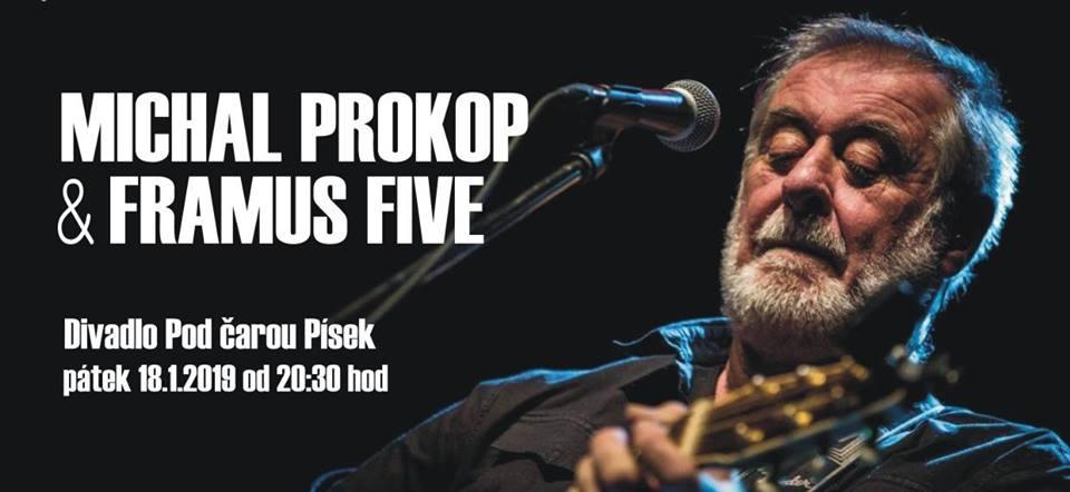 Hudební osobnost Michal Prokop se skupinou Framus Five otevřou v Divadle Pod čarou koncertní sezónu 2019