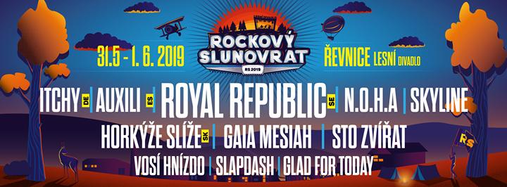 Royal Republic hlavní hvězdou Rockového Slunovratu!