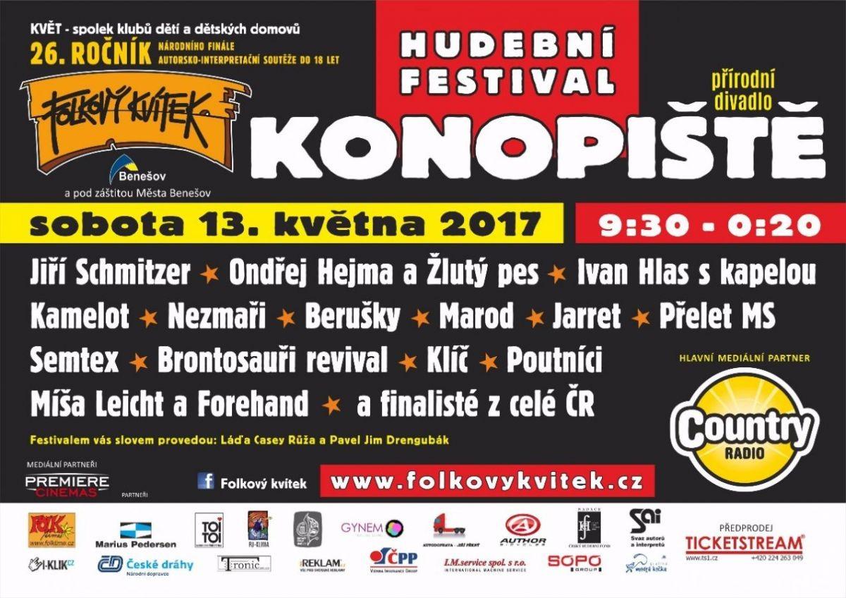 Folkový kvítek 2017 - hudební festival