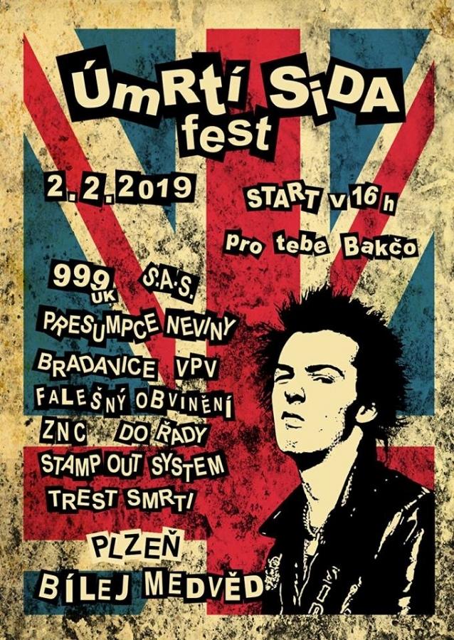 Punkový festival Úmrtí Sida fest se pyšní pořadovým číslem 16