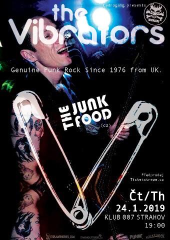 The Vibrators po roce znova na Sedmiččce.
