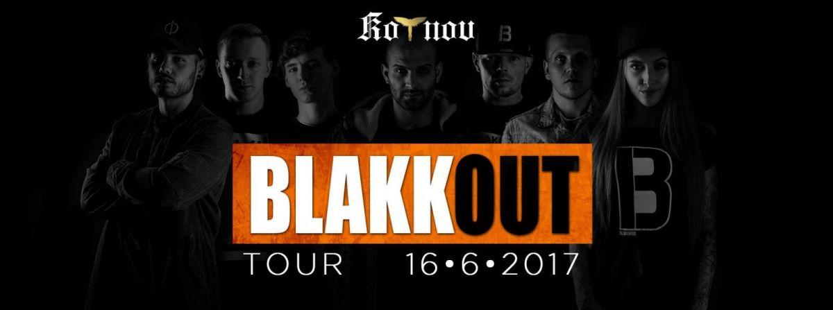 Interpreti Blakkwood Records v rámci své BLAKKOUT TOUR zavítají do Tábora