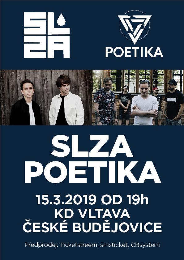 Slza a Poetika v Českých Budějovicích