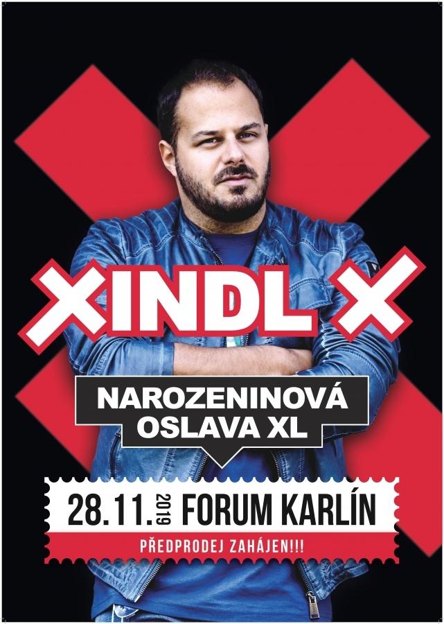 Xindl X chystá speciální narozeninový koncert ke svým čtyřicátinám! Během jubilejního roku 2019 zahraje ve Foru Karlín, vydá zpěvník a album největších hitů.