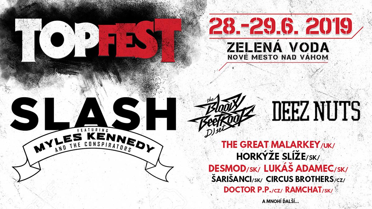 Na festivalu TOPFEST to roztočí australsko - americká skupina Deez Nuts