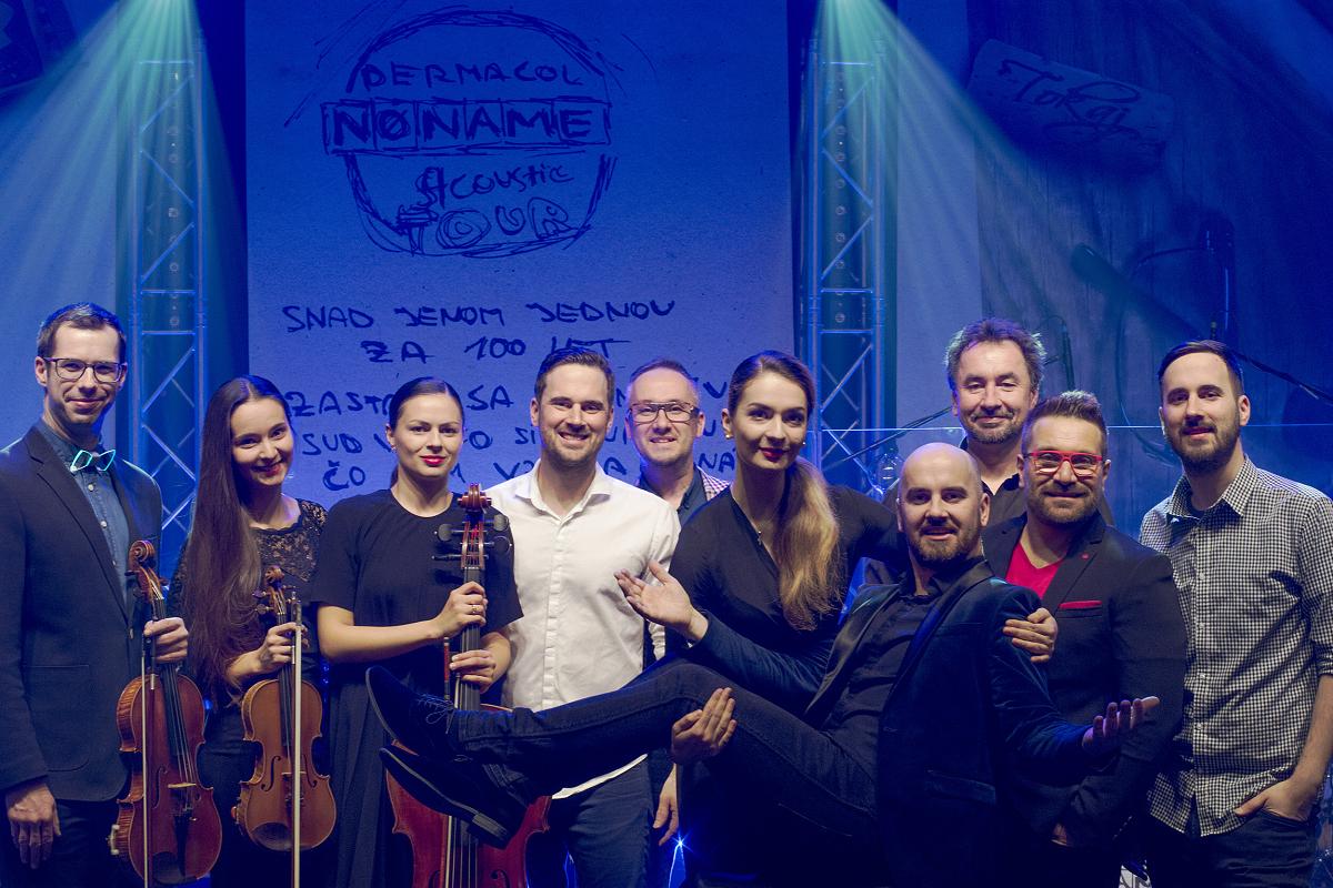 No Name se s akustickým turné přesouvají na Slovensko, na koncertech s nimi hrají missky