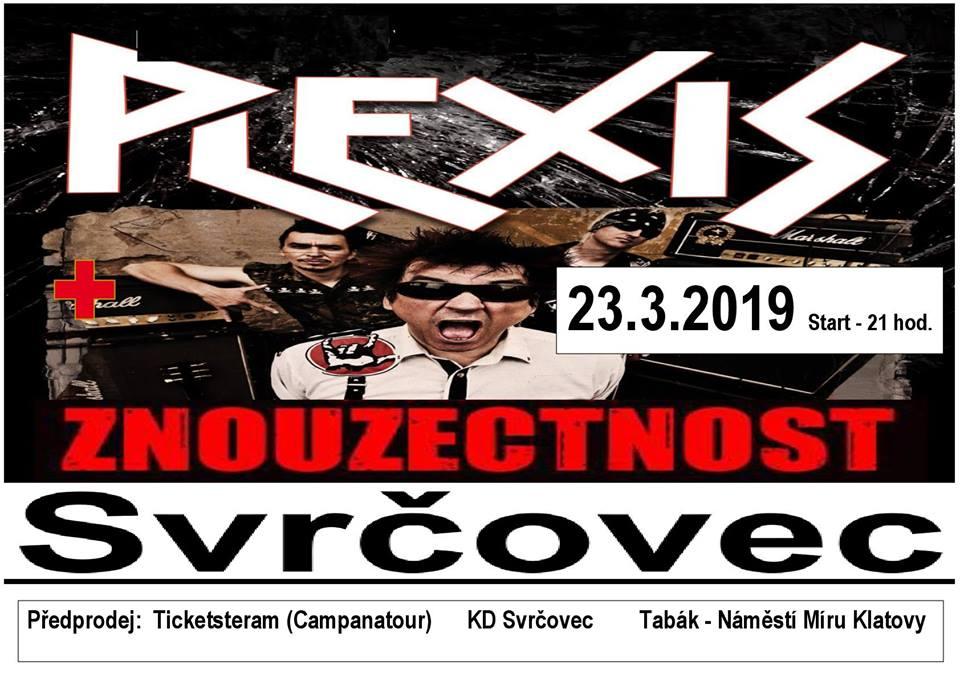 Plexis a Znouzectnost si zařádí ve Svrčovci aneb dvě punkové legendy na jednom pódiu