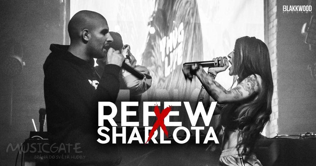 Společná tour členů Blakkwood Records Refewa a Sharloty.